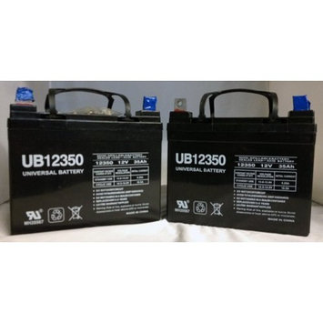 Universal Power Group UB12350 12V 35AH SLA BATTERY L1 TERMINAL pack of 2 batteries