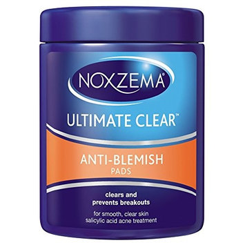Noxzema Ultimate Clear Anti-Blemish Pads 90 Each (Pack of 10)