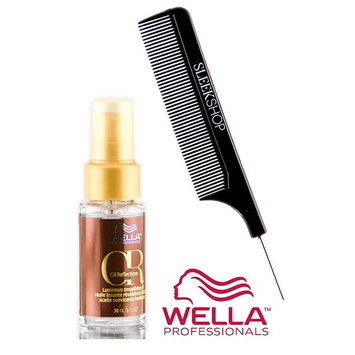 Wella OIL REFLECTIONS Luminous SMOOTHING OIL (with Sleek Steel Pin Tail Comb)