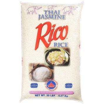 Rico: Prime Fragrant Thai Jasmine Rice, 20 Lb