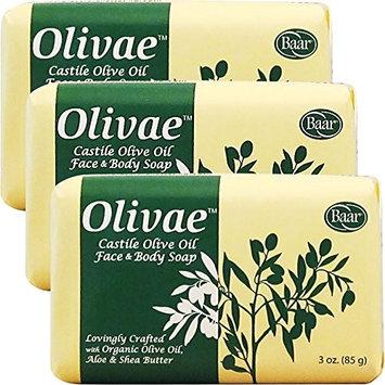 Olivae Castile Bar Soap, 3 Bar Set