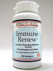 Immune Renew 90 vcaps by Protocol For Life Balance