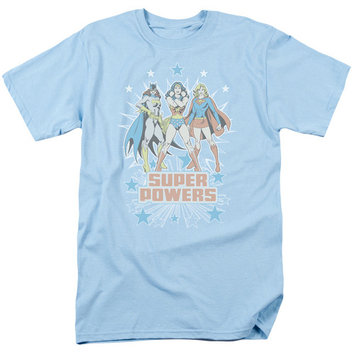 Dc/Super Powers X3 S/S Adult 18/1 Light Blue Dco248 [clothing_size_type: clothing_size_type-regular]