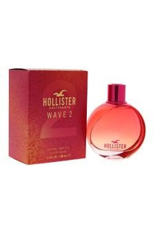 Hollister Wave 2 Edp Spray For Women 3.4 Oz