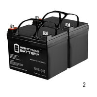 12V 35AH SLA Battery Replacement for Invacare Pronto M51 M61 - 2 Pack