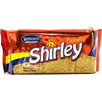 Shirley Biscuits, 3.7 Ounce (Pack of 24), Unique Creamy Taste, Caribbean Classic Biscuits