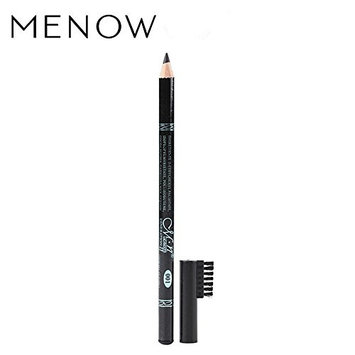 Menow P10021 wooden pencil eyebrow pencil with brusher cap
