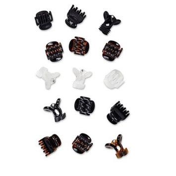 Scunci Mini Jaw Clips - 15pk