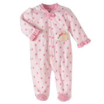 Rene Rofe Baby Newborn Girl Fleece Sleep 'N Play