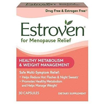 Estroven Weight Management One per Day Multi-Symptom Menopause Relief Black Cohosh FamilyPack 3Pack (30Count) Cissus Quadrangularis Stem/Leaf Extract