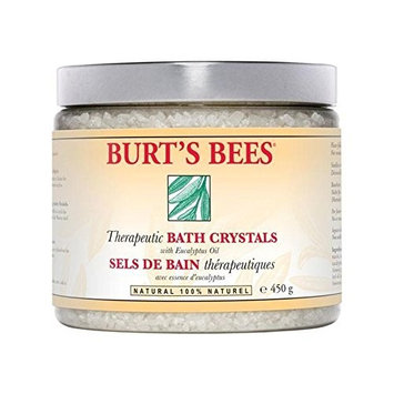 Burt's Bees Therapeutic Bath Crystals 454g (PACK OF 4)
