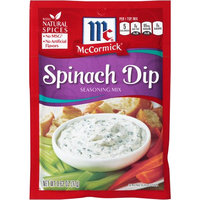 McCormick Spinach Dip, 0.62 OZ (Pack of 4)