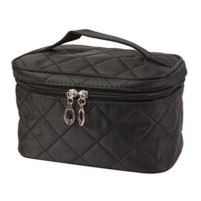 Cosmetic Bag, Misaky Square Case grain Of Pure Color