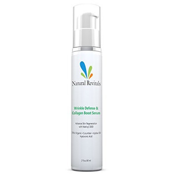 Advanced Anti-Wrinkle Gel for Eye and Face, Reducing Dark Circles, Puffy Eyes, Fine Lines, Crow Feet,Contains. Matrixyl 3000, MSM, Jojoba Oil 2oz