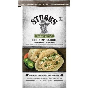 Stubb's, Hatch Chile, Cookin' Sauce, 12oz Bag (Pack of 2)