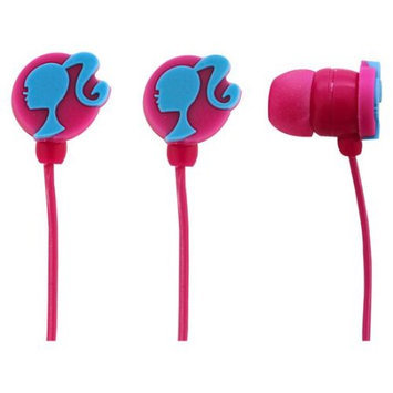 Sakar International Barbie Molded Earbuds with Mic