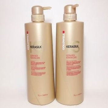 Goldwell Kerasilk Ultra Rich Shampoo and Treatment Liter Duo