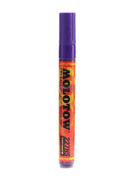 Molotow MLW227207 One4All Urban Fine Art Paint Markers; 4mm; Violet HD