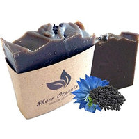 Sheer Organix Luxury Rejuvenative Handmade Herbal Soap, 3.52 oz. / 100g, Black Cumin [Black Cumin]