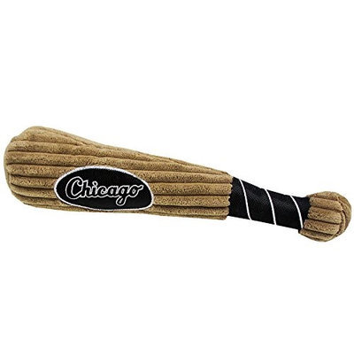 Pets First MLB Chicago White Sox Dog Baseball Bat Toy
