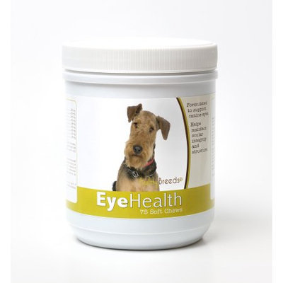 Healthy Breeds 840235145134 Airedale Terrier Eye Health Soft Chews - 75 Count