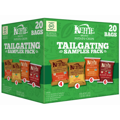 Snyders-lance Kettle Brand Potato Chips Tailgating Sampler Variety Pack