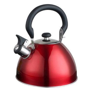 Aramco Imports Alpine Cuisine 2.6-quart Red Tea Kettle