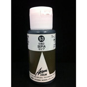 Aeroflash Color (Sepia E-053) 1 Bottle of 35ml From Holbein Japan