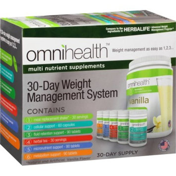 omnihealth 30-Day Weight Management System, 390 count