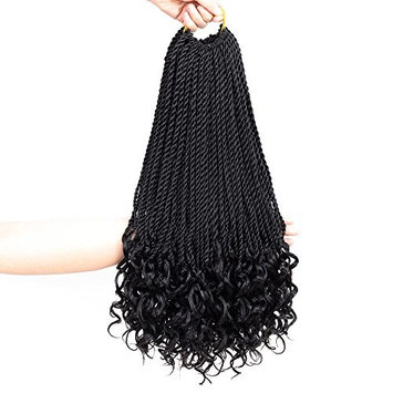 LMY Senegalese Twist Crochet Hair Braids Hairstyles Crochet Twist Synthetic Braiding Hair Extensions