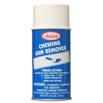 Claire C-813 6.5 Oz. Chewing Gum Remover Aerosol Can (Case of 12)