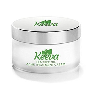 🔥7X FASTER Tea Tree Oil Acne Treatment by Keeva Organics, IMAGINE the Acne-Free Skin YOU Deserve in Just 3 Days, SHOP NOW and Get Rid of Bacne & Pimples. (2oz): Beauty