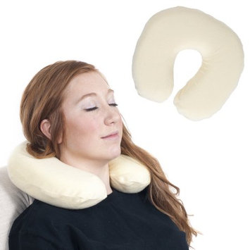 Trademark Global Games Remedy Memory Foam Head and Neck Support Transit Pillow