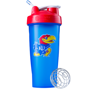 Blender Bottle BlenderBottle Collegiate Shaker Bottle - University of Kansas