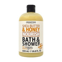 Creightons Shea Butter And Honey NOURISH Bath and Shower Made in England 16.9 Fl. Oz.