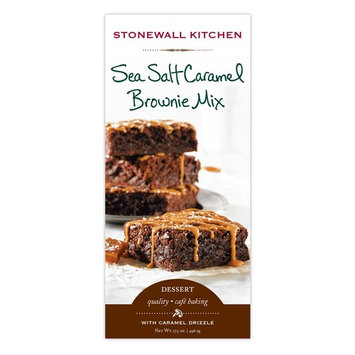 Stonewall Kitchen Sea Salt Caramel Brownie Mix, 17.5 oz