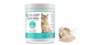Living Meal Cat Fish Flavor Vital Planet 3.9 oz Powder