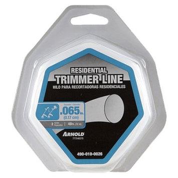 Arnold 490-010-0026 RND Trimmer Line 40 ft