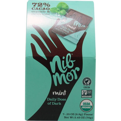 NibMor Daily Dose of Dark Mint - 7 Pieces pack of 12