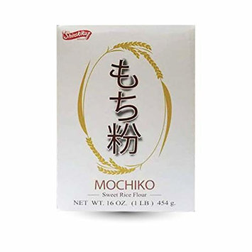 Shirakiku Mochiko-Sweet Rice Flour. 16oz(1lb) Pack of 1.