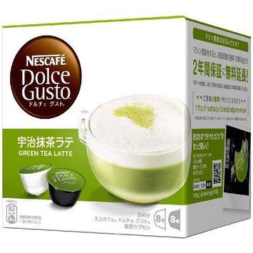 Nestle Coffee Capsules for Nescafe Dolce Gusto - Uji Matcha Green Tea Latte Taste (Japan Import)