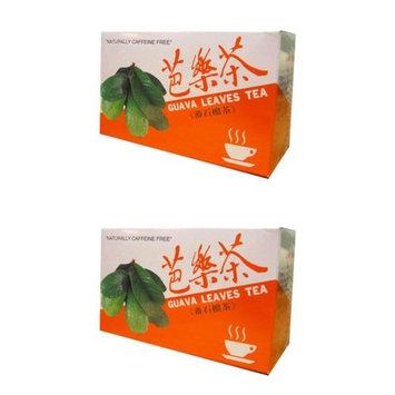 Guava Leaves Tea Caffeine-Free Tea (2 Boxes of 20 Tea Bags)