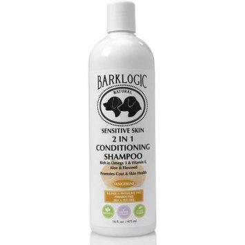 BarkLogic Sensitive Skin 2 In 1 Conditioning Shampoo, Tangerine, 16 Oz