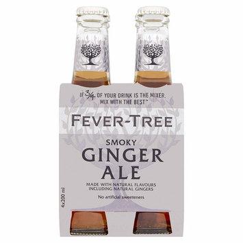 FEVER TREE Premium Ginger Ale, Smoky, 6.8 Fl Oz [Smoky]