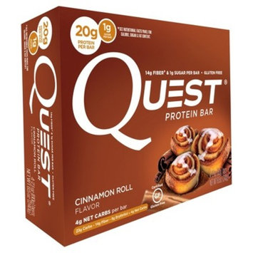 Quest Nutrition® Protein Bar - Cinnamon Roll - 4ct