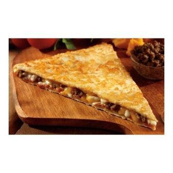 Conagra The Max Chicken Slice Quesadilla Pizza, 5 Ounce - 48 per case.