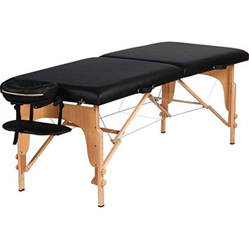 BNFUSA SPMSGTBL Adjustable Portable Massage Table With Carrying Case