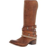 Freebird Women's Drove Western Boot,Tan,8 M US