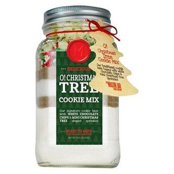 Mason Jar O! Christmas Tree Cookie Mix