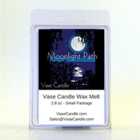 2 Moonlight Path Vase Candle Melts 2.8 oz Premium Highly Scented Soy Paraffin Wax Tarts 50 Hours (Pack of 2)